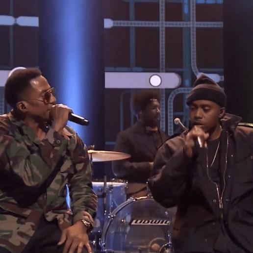 Nas & Q-Tip Perform 'Illmatic' Classics on 'The Tonight Show'