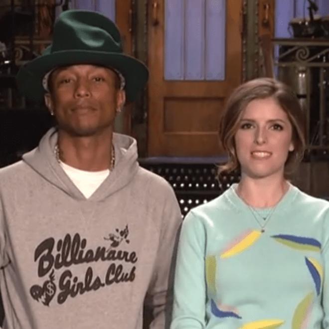 Pharrell & Anna Kendrick Star in 'Saturday Night Live' Promo