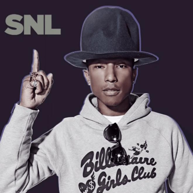 Watch Pharrell's SNL Performance featuring Hans Zimmer