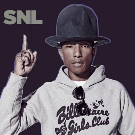 Watch Pharrell's SNL Performance featuring Hans Zimmer