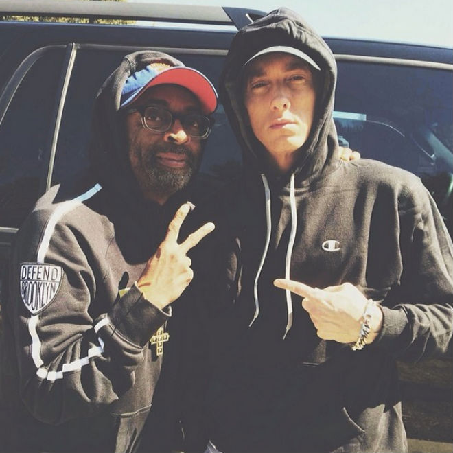 "Spike Lee Is Directing Eminem's ""Headlights"" Video"
