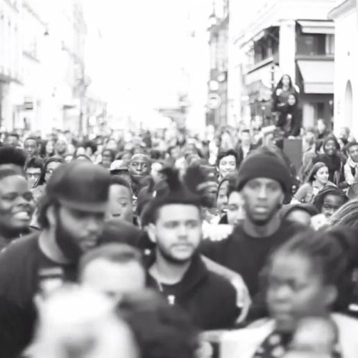 The Weeknd in Paris