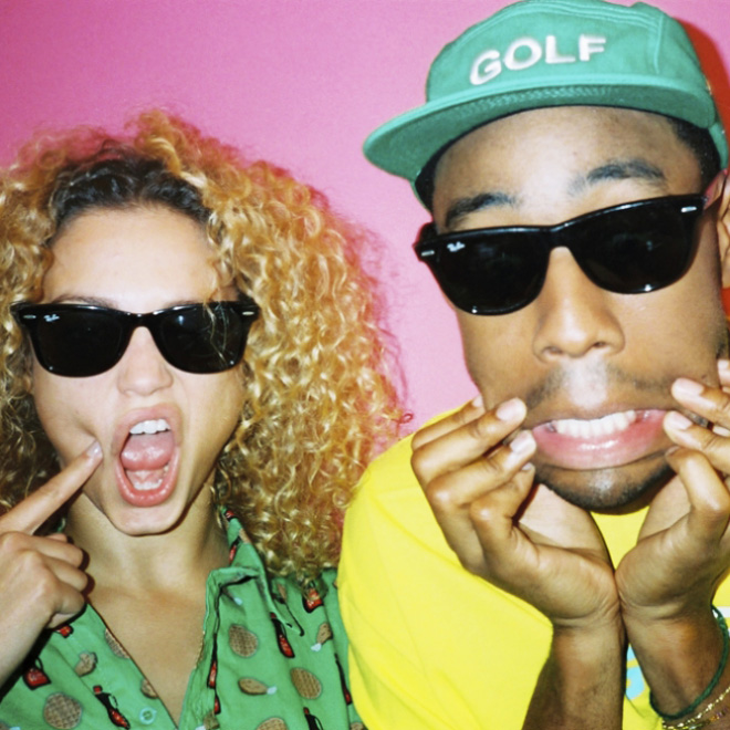 Tyler, The Creator Shoots Rose Bertram for Oyster Magazine