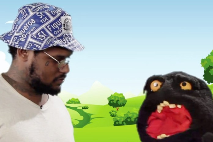 """Watch ScHoolboy Q And A Puppet Discuss His Favorite Word: """"F*cking"""""""