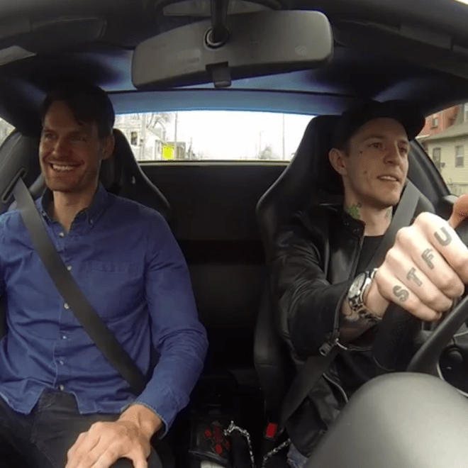 Watch Deadmau5 & Tycho Go For A Coffee Run