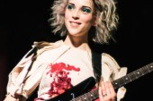 "Watch St. Vincent Cover ""Lithium"" by Nirvana"