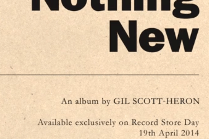XL Recordings Announces Posthumous Gil Scott-Heron Album 'Nothing New'