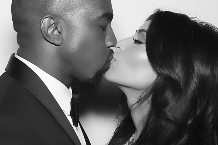 Kim Kardashian & Kanye West Unveil their First Wedding Pictures