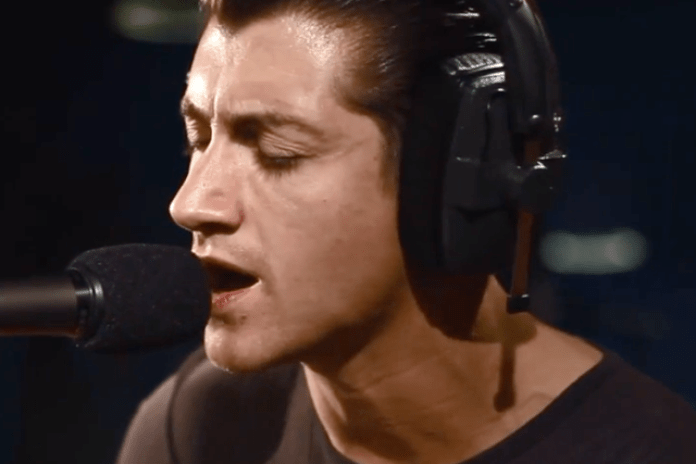 """Watch Arctic Monkeys Cover Tame Impala's """"Feels Like We Only Go Backwards"""""""