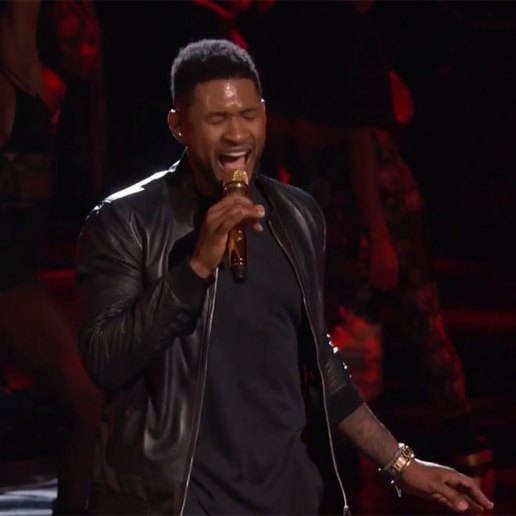 """Watch Usher Perform """"Good Kisser"""" on The Voice"""