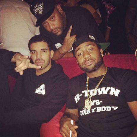 Drake Teases New Song in Houston