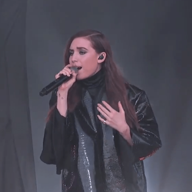 "Lykke Li Performs ""No One Ever Loved"" and ""No Rest For the Wicked"" on 'Kimmel'"