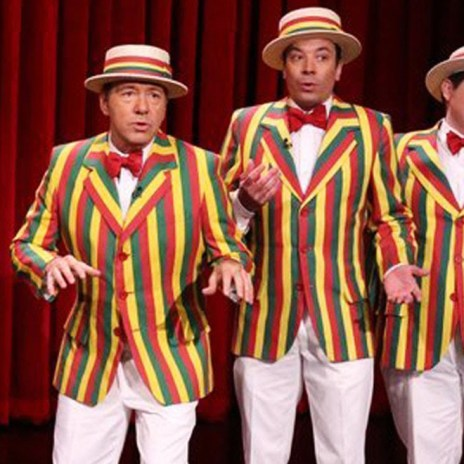 "Kevin Spacey, Jimmy Fallon and The Ragtime Gals Cover ""Talk Dirty"" By Jason Derulo"
