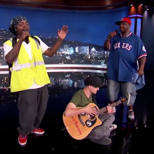 """Watch The Viral Sensation """"Amazing Jam Session Guys"""" Perform with Trey Songz, Juicy J & Aloe Blacc On Jimmy Kimmel Live"""