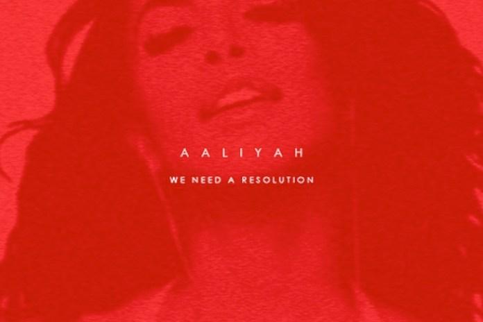 Aaliyah - We Need A Resolution (Drewbyrd Remix)