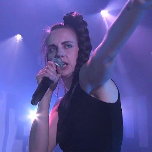 "Watch MØ Perform ""Pilgrim"" & ""Don't Wanna Dance""Jimmy Kimmel Live!"