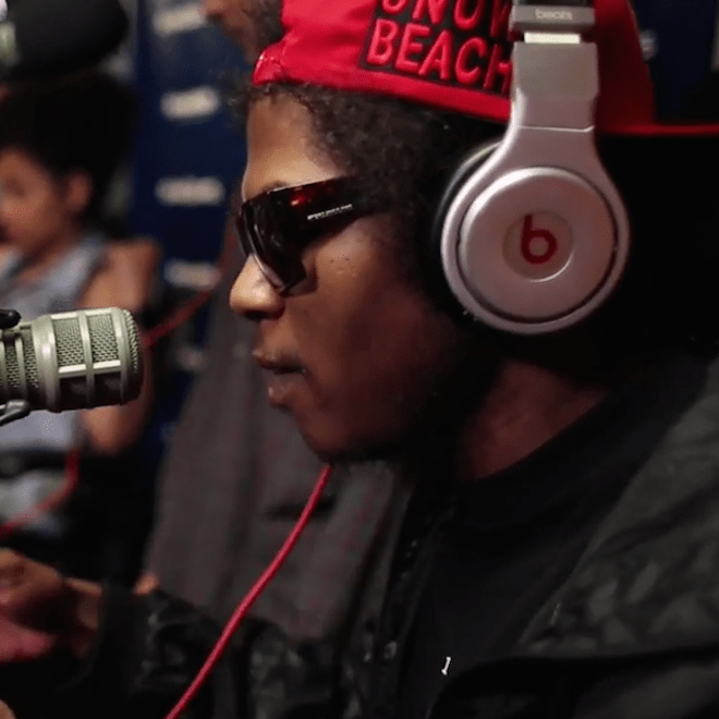 Ab-Soul & Da$h Freestyle on Showoff Radio
