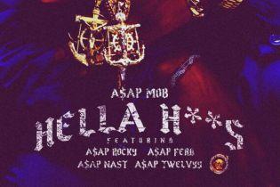 A$AP Mob featuring A$AP Rocky, A$AP Ferg, A$AP Nast & A$AP Twelvyy - Hella H**s