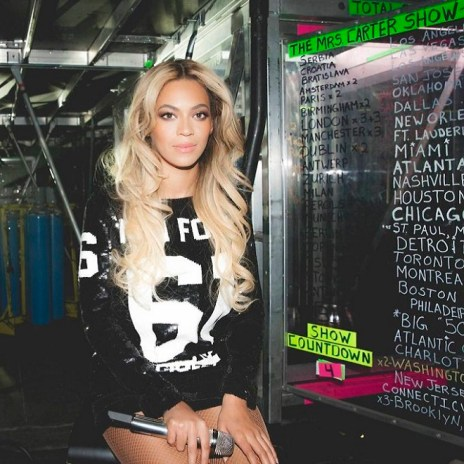 "Beyonce's ""Mrs Carter"" Tour Subject of New HBO Series"