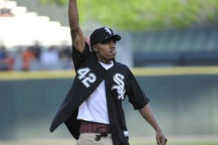 Chance The Rapper Throws First Pitch at Chicago White Sox Game