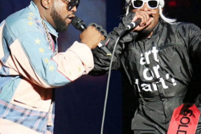 Janelle Monáe Joins Outkast on Stage During Governors Ball Performance