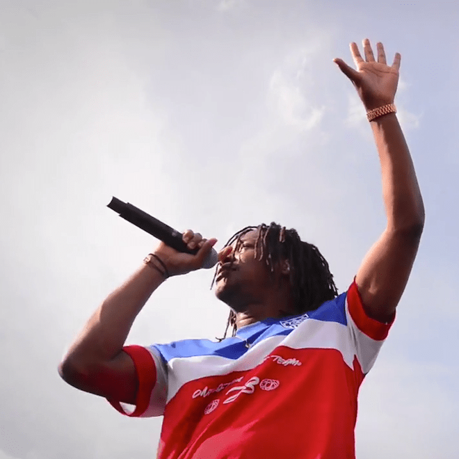 Lupe Fiasco Performs at U.S. Soccer World Cup Event in Chicago
