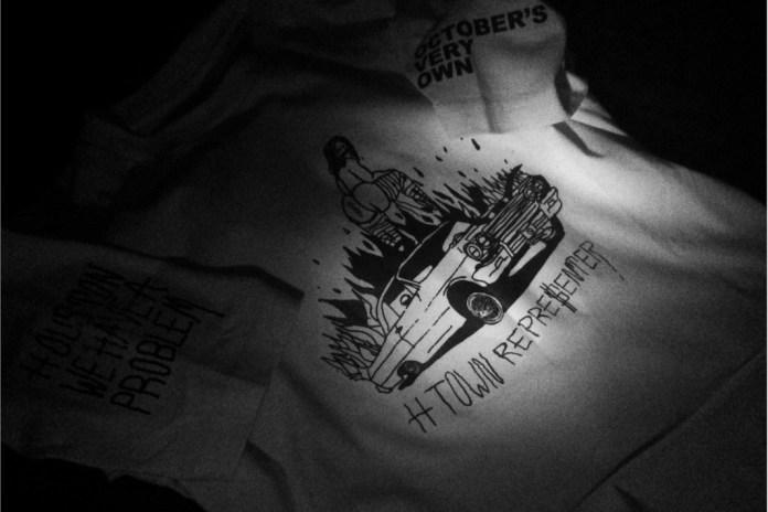 "OVO x Travis Scott ""Houston Appreciation Week"" T-shirt Collection Preview"