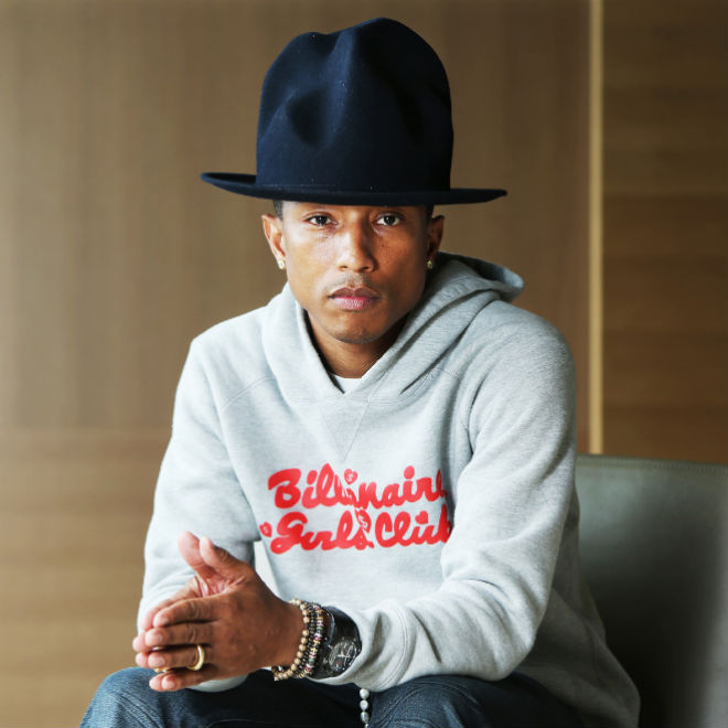 Pharrell To Receive His Own Hollywood Walk of Fame Star