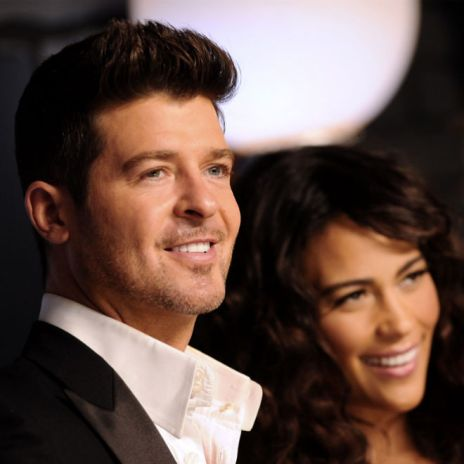 Robin Thicke Names His Next Album After His Wife 'Paula'