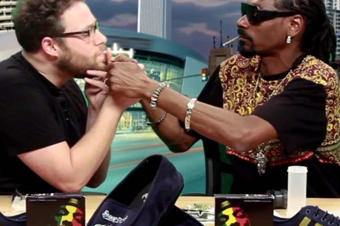 Seth Rogen and Snoop Dogg Get High and Talk Chronic