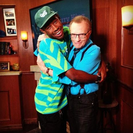 Tyler, The Creator Visits Larry King