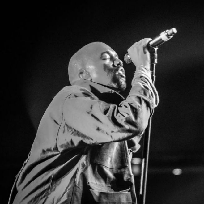 Watch Kanye West Perform & Rant at Bonnaroo 2014