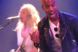 "Watch KiD CuDi & Lissie Perform ""Pursuit of Happiness"" In Paris"
