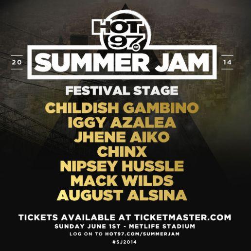 Watch the HOT 97 Summer Jam 2014 Performances