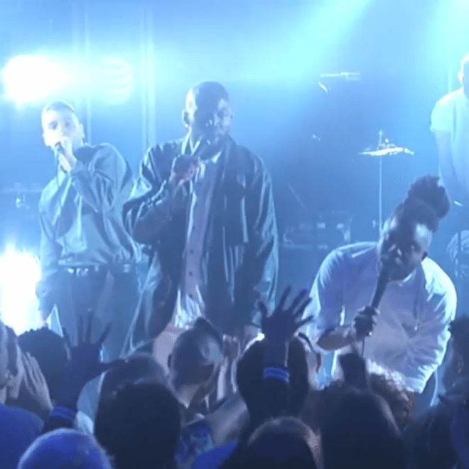 Watch the Young Fathers Make Their Late Show Debut
