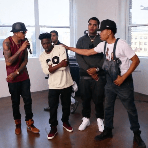 XXL 2014 Freshman Cypher Part One featuring Chance The Rapper, Isaiah Rashad, Vic Mensa, Kevin Gates & August Alsina