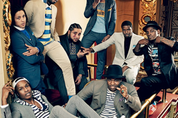 "ASAP Mob & Cam'ron Featured in GQ ""Harlem Reshuffled"" Photoshoot"