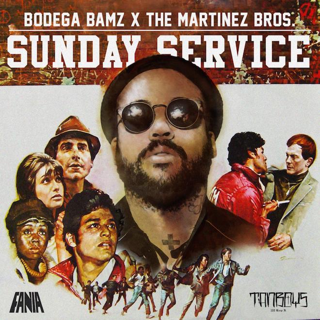 Bodega Bamz & The Martinez Brothers - Sunday Service (EP)
