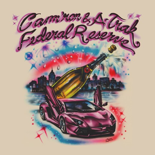 Cam'ron and A-Trak Reveal Cover Art for 'Federal Reserve' EP