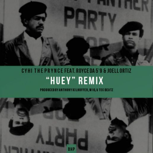 "Cyhi The Prynce featuring Royce da 5'9"" & Joell Ortiz - Huey (Remix)"