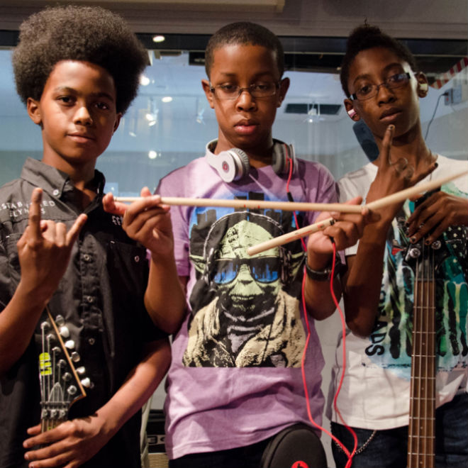 Eighth-Grade Metal Trio Signs $1.7 Million Deal with Sony