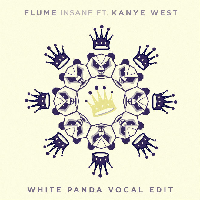 Flume & Kanye West - Insane (White Panda Vocal Edit)