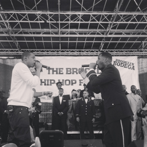 Jay Electronica Joined By JAY Z, J. Cole & Mac Miller at 2014 BK Hip-Hop Festival