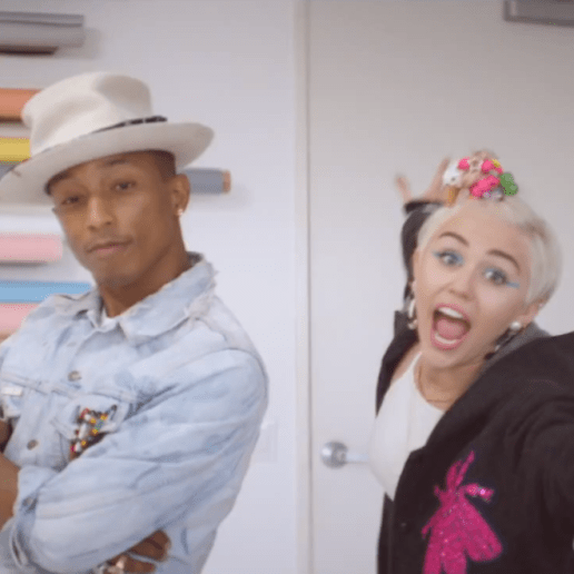 Pharrell Williams featuring Miley Cyrus - Come Get It Bae
