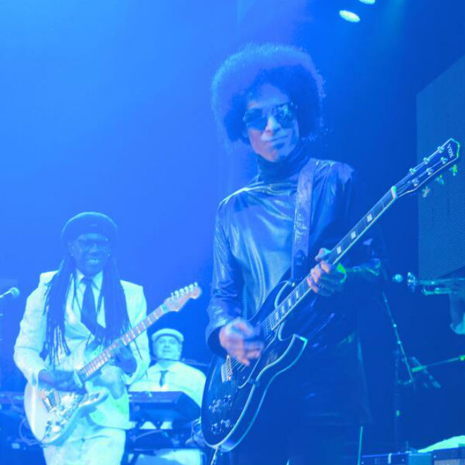 Prince & Nile Rodgers Cover David Bowie
