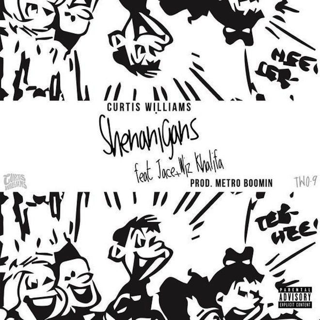 Curtis Williams featuring Wiz Khalifa & Jace - Shenanigans (Produced by Metro Boomin)