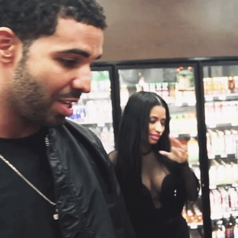 Drake Takes Out Nicki Minaj for Snack Shopping