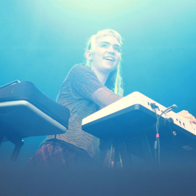 Grimes Does Not Like Hard Drugs, And She Wants You To Know It