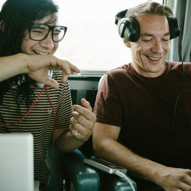 "Listen to Diplo and Skrillex's New ""Jack U"" Collaboration"