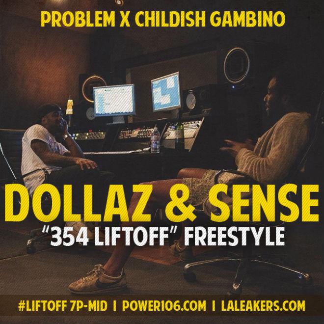Problem featuring Childish Gambino - Dollaz & Sense (Freestyle)
